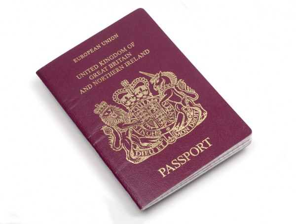 British citizenship passport
