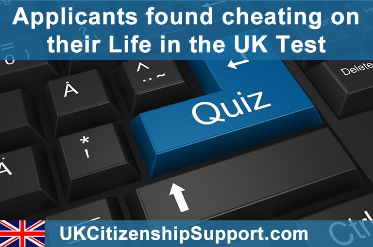 Life in the UK Test keyboard